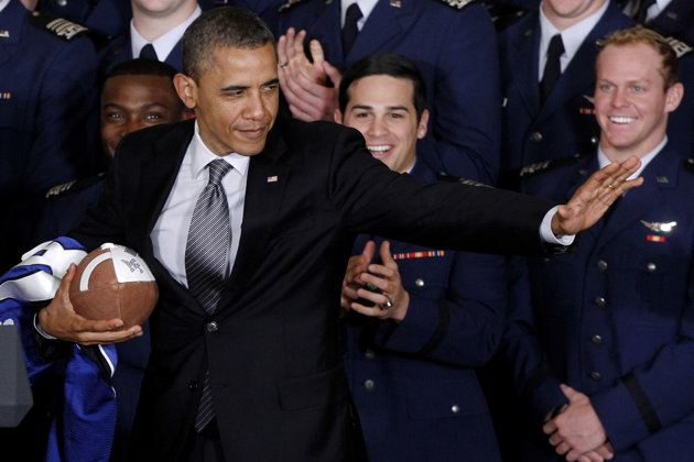 President Obama: 'If I had a son, I'd have to think long and ha…
