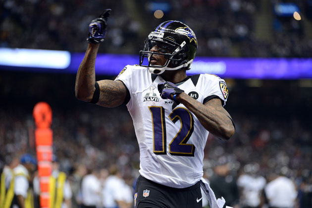 Jacoby Jones' new Ravens Super Bowl back tattoo is … permanent