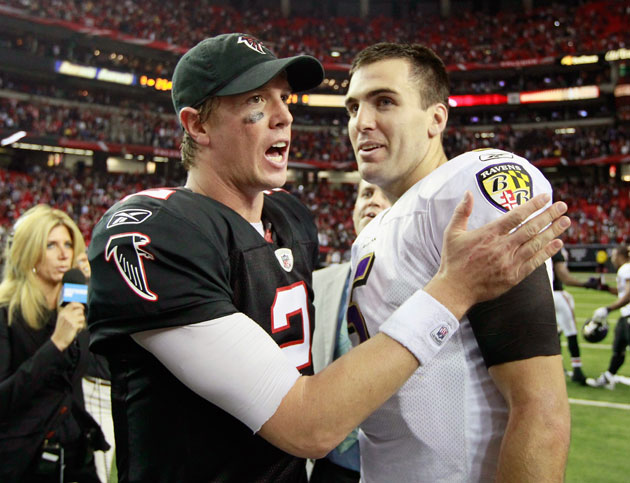 Joe Flacco's deal just drove up Matt Ryan's future cost for the…