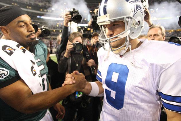 Donovan McNabb is not pleased with Tony Romo's new contract