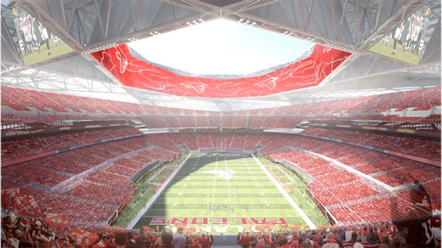 Falcons stadium ideas move in previously unseen directions