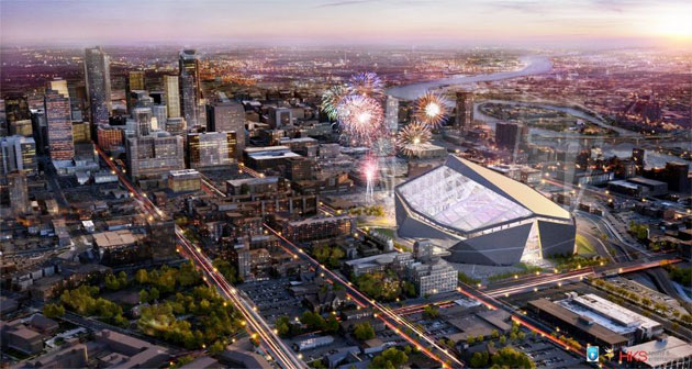 New Minnesota Vikings stadium design is indeed a new stadium de…