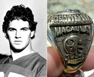 Super Bowl ring recovered in airport bathroom