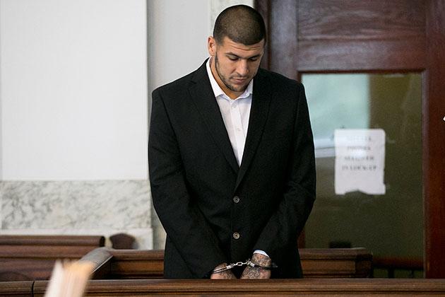 Report: Aaron Hernandez allegedly writes fan from jail, declare…