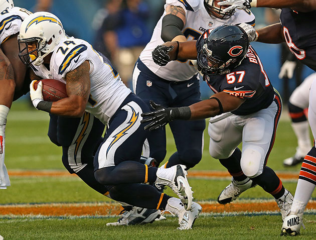 Lance Briggs says the NFL fined Jon Bostic $21K for his bone-ra…