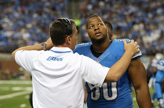 Ndamukong Suh hit with $100,000 fine for low block against Minn…