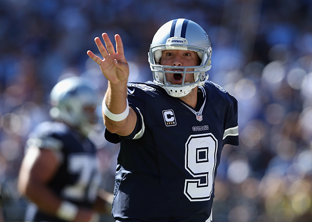 Tony Romo begins working the refs in advance of the Cowboys' ga…