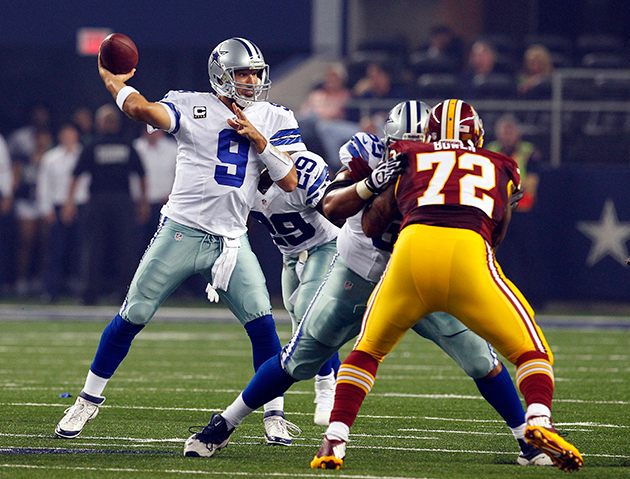 A rarity: Romo didn't have to star in victory