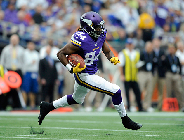 Vikings' Cordarrelle Patterson ties longest play in NFL history…