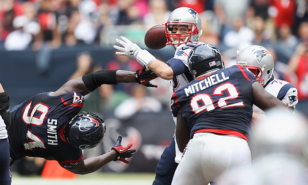 Spygate II? Texans' Smith 'suspicious' about Patriots' halftime…