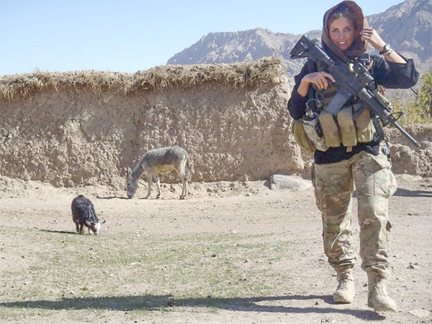 Eagles will honor former cheerleader turned Afghanistan special…