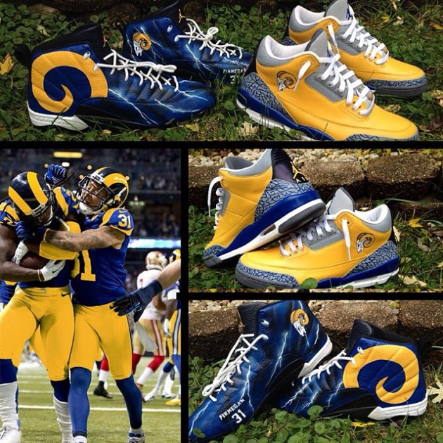 Check out Rams cornerback Cortland Finnegan's amazing throwback…