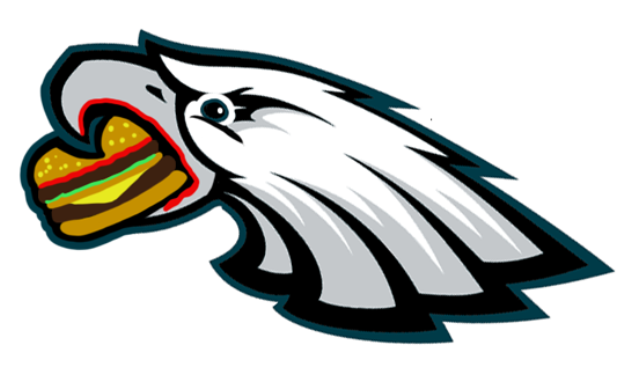 Here are pictures of NFL team logos … if they were fat