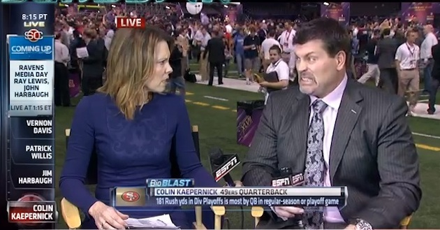 ESPN snafu allows audience to see Hannah Storm and Mark Schlere…