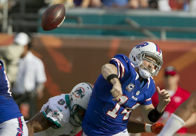Buffalo Bills release Ryan Fitzpatrick