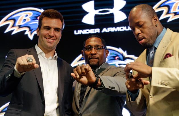 2012 Baltimore Ravens reunite to get their Super Bowl rings