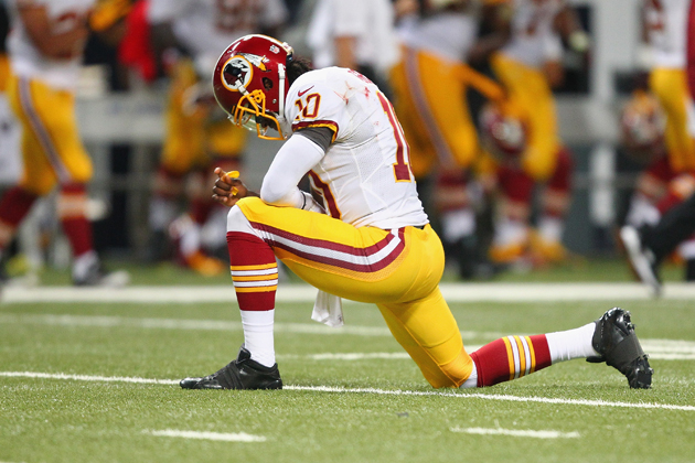 Robert Griffin III felt he was the victim of some cheap shots f…