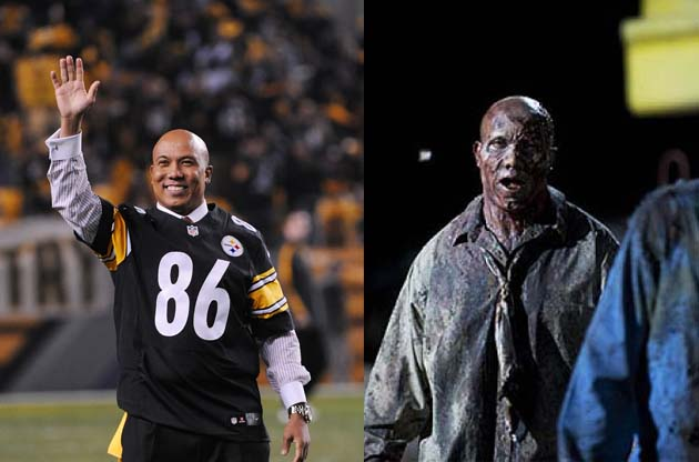Zombie Hines Ward will show up in your nightmares, erm, AMC's '…