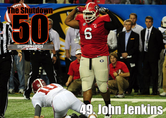 The Shutdown 50: John Jenkins, Georgia DL