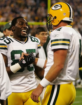 Brett Favre helped steer Greg Jennings toward signing with the …