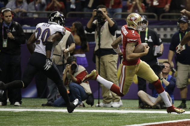 Colin Kaepernick draws the 49ers closer with longest TD run by …