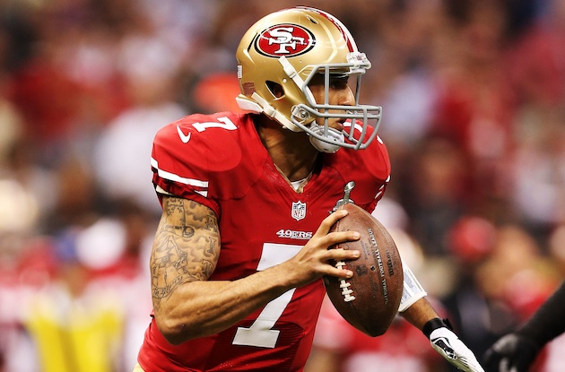 Colin Kaepernick has his chance to pull off a game-winning driv…
