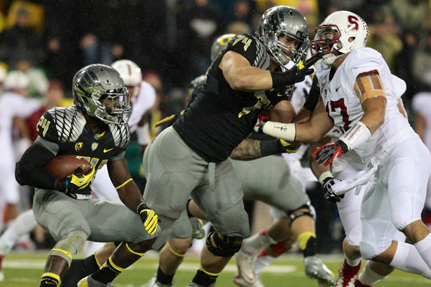 Chicago Bears select Oregon OT Kyle Long with the 20th overall …