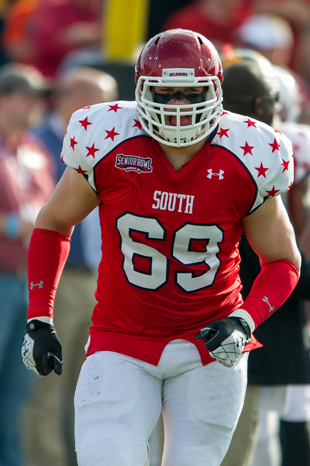 Philadelphia Eagles select Oklahoma OT Lane Johnson with the fo…