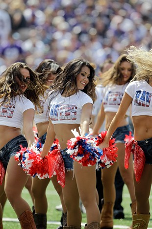 Ravens cheerleader says she was left home from Super Bowl over …