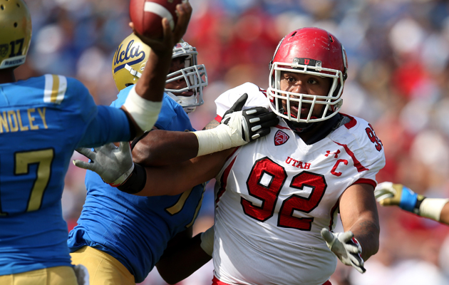 Carolina Panthers select Utah DT Star Lotulelei with the 14th o…