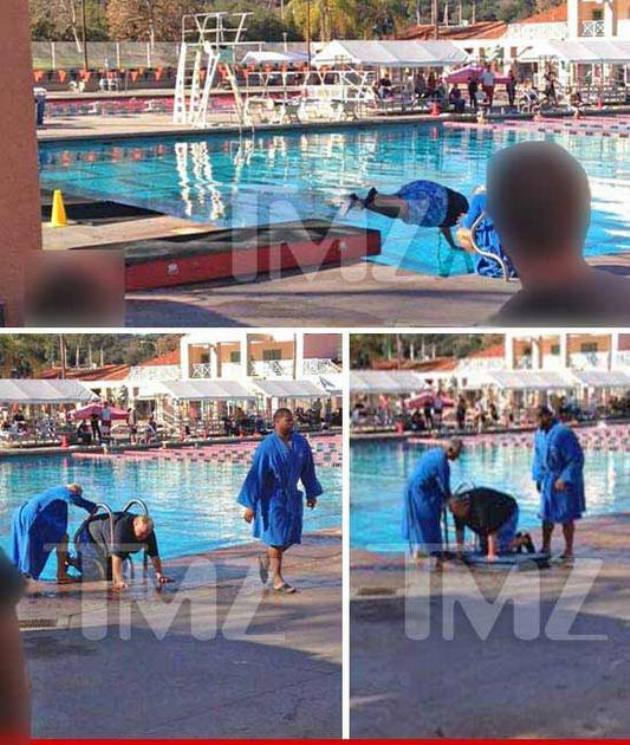 Ndamukong Suh saved Louie Anderson from drowning … so there's t…
