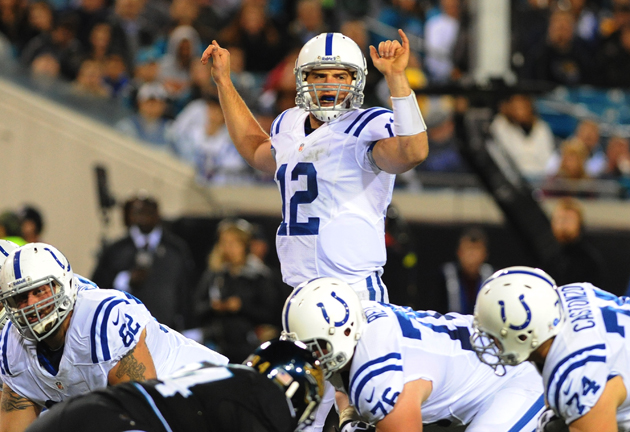 Scattershot Colts beat pathetic Jaguars without Luck's best gam…