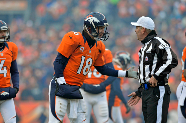 Peyton Manning's third-quarter fumble brings the Tuck Rule back…