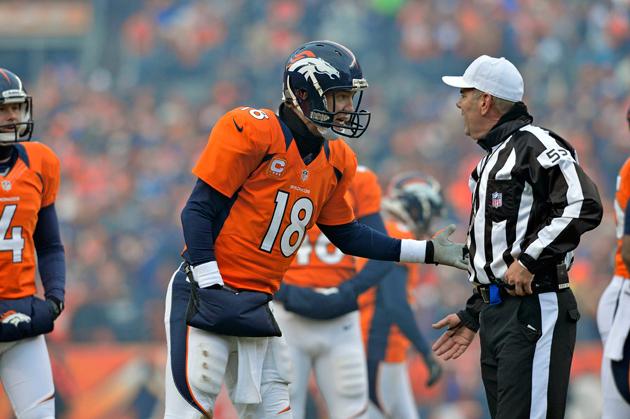 Peyton Manning's third-quarter fumble brings the Tuck Rule back…