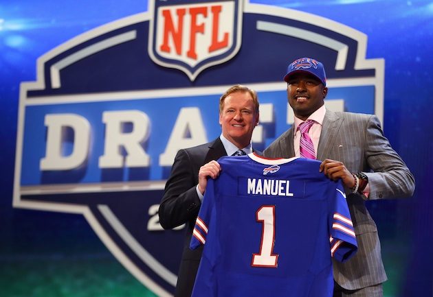 'Sorry, wrong number': E.J. Manuel gets early phone call meant …