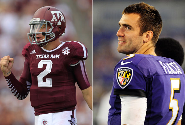 Joe Flacco is a big fan of Johnny Manziel, says 'being hated is…