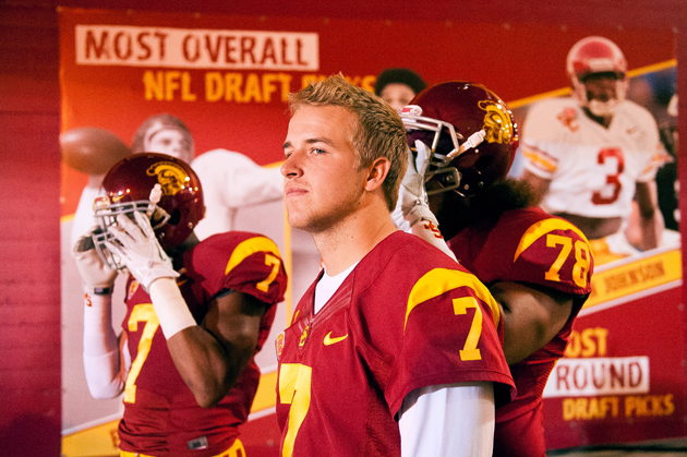 Matt Barkley's best method at pro day and beyond? Acceptance of…