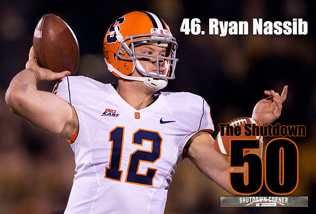 The Shutdown 50: Ryan Nassib, Syracuse QB