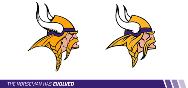 Vikings Update Logo With Subtle Enhancements