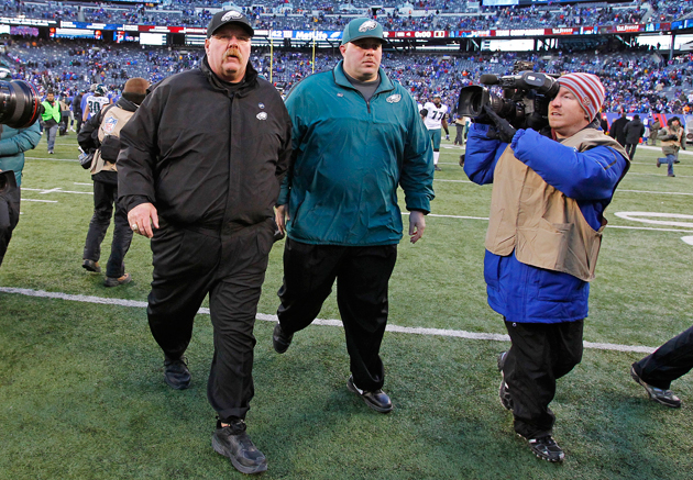 Andy Reid sells off Eagles gear for charity in enormous garage …