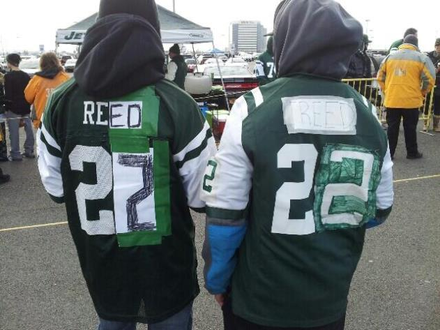 From Revis to Reed, some Jets fans get creative with a jersey m…