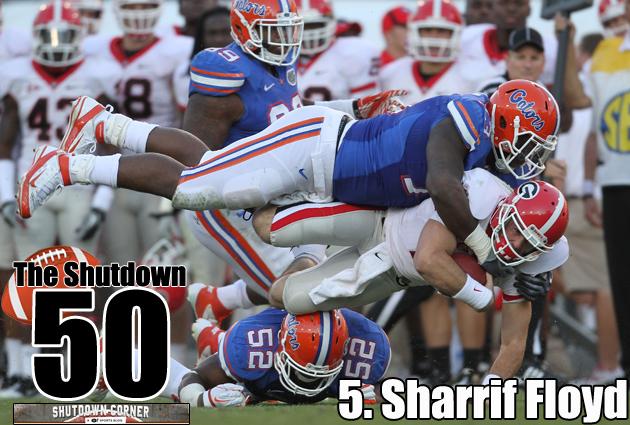 The Shutdown 50: Florida DT Sharrif Floyd