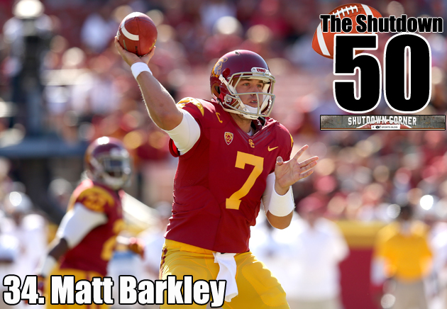 The Shutdown 50: USC QB Matt Barkley