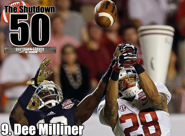 The Shutdown 50: Alabama CB Dee Milliner