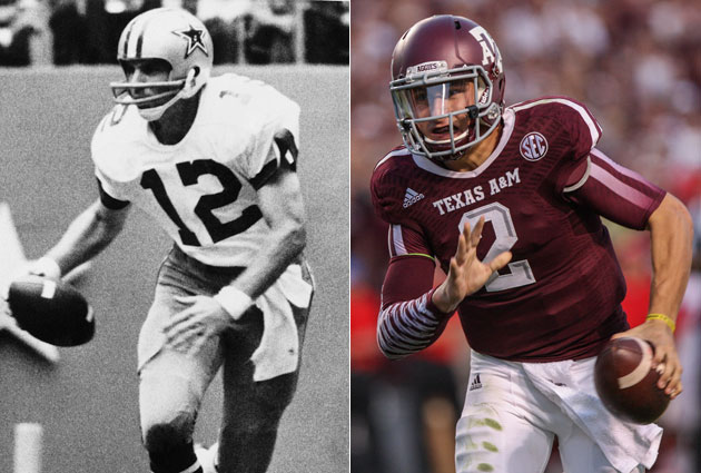 Roger Staubach thinks Johnny Manziel has what it takes to succe…