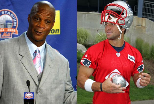 Tim Tebow's biggest admirer is … Darryl Strawberry?
