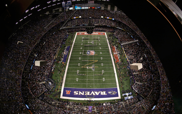 Early Super Bowl report: So far, Ravens appear to have the home…