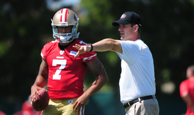 Colin Kaepernick gets his shot: An inside look at the 49ers' qu…