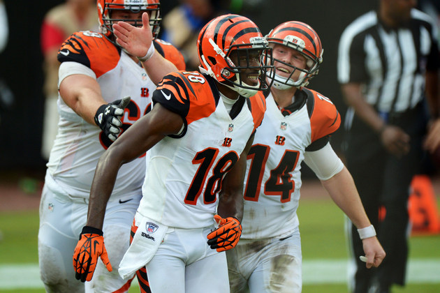 A.J. Green makes another ridiculous catch