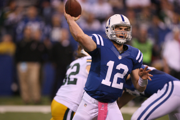 Andrew Luck perseveres to lead the Colts to the upset over Gree…